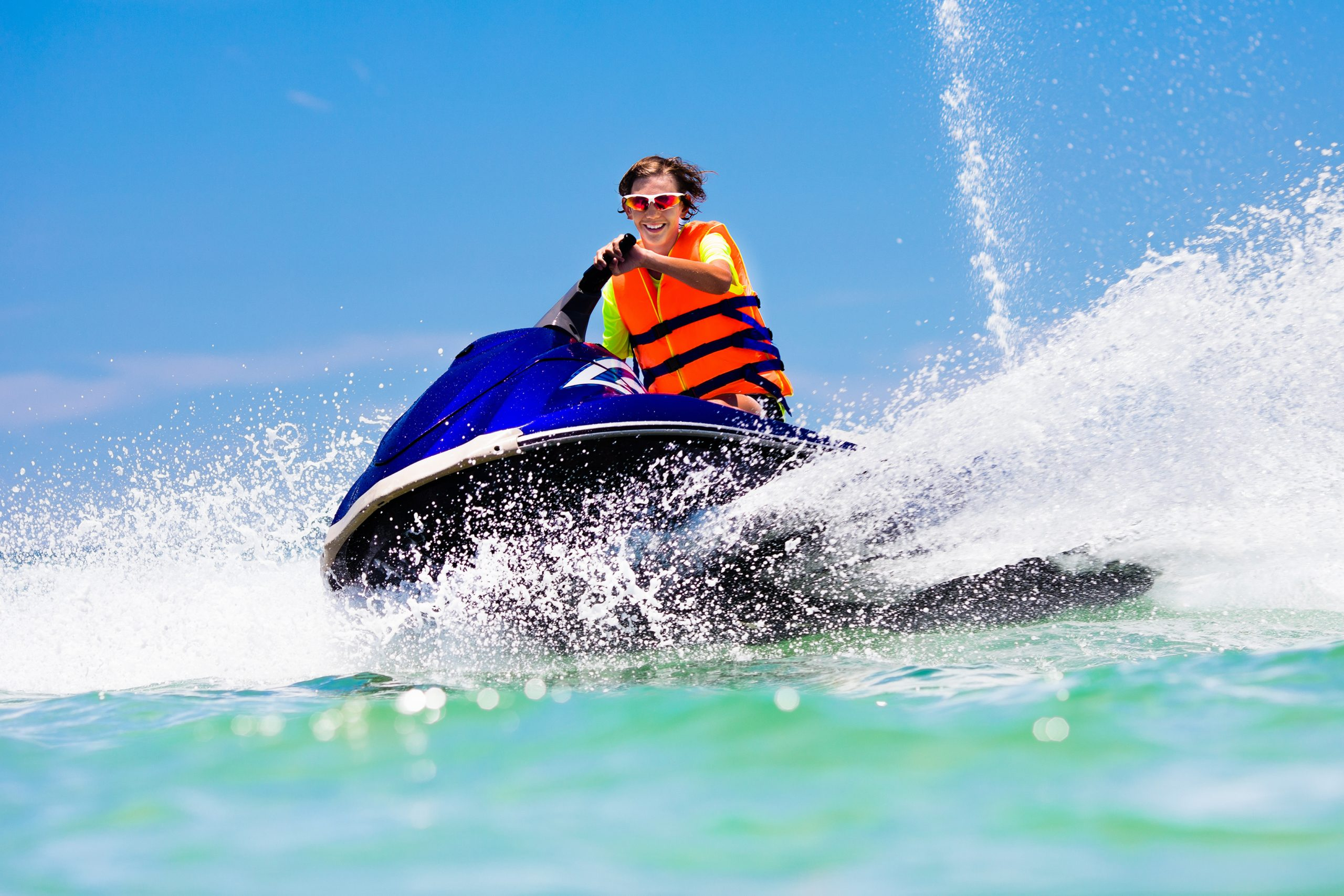Jet Ski at Round Hill Resort